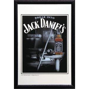 Bedrukte spiegel Break Into Jack Daniels