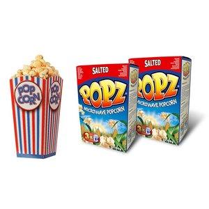 Popz Popcorn Compleet Salted Pakket