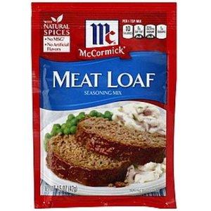 McCormick Meatloaf Seasoning Mix