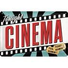 Nostalgic Art Tin Sign Cinema 30x20