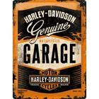 Nostalgic Art Tin Sign Harley Davidson Garage 30x40