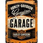 Nostalgic Art Tin Sign Harley Davidson Garage 30x40