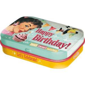 Nostalgic Art Pillendoosje Happy Birthday!