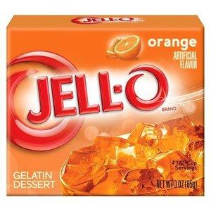 JELL-O Orange Gelatine Dessert