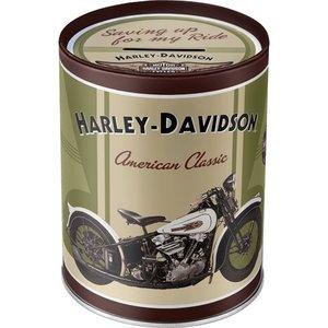 Nostalgic Art Spaarpot Harley Davidson Knucklehead
