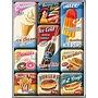 Nostalgic Art Magneetset American Diner (9x)