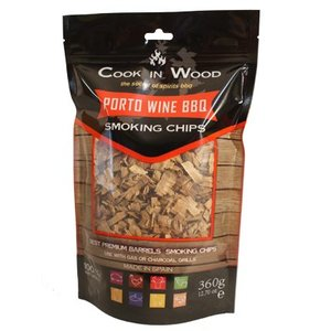 Cook In Wood Porto Wine BBQ Smoking Chips