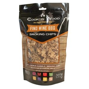 Cook In Wood Fino Wine BBQ Smoking Chips