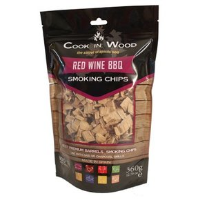 Cook In Wood Red Wine BBQ Smoking Chips