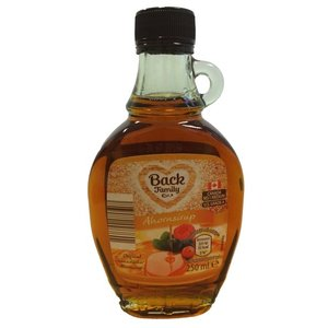 Back Family Maple Syrup grade A 250ml