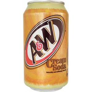 A&W Cream Soda USA 355ml