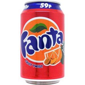Fanta Fruit Twist UK 330ml