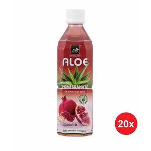 Tropical Aloe Vera Pomegranate 500ml Doos (20 flessen)