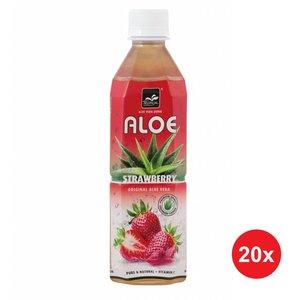 Tropical Aloe Vera Strawberry 500ml Doos (20 flessen)