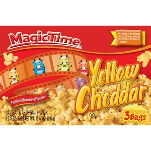 Magic Time Yellow Cheddar Microwave Popcorn