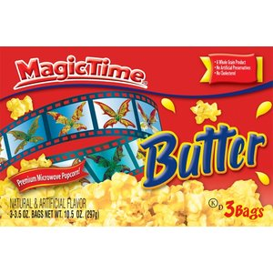 Magic Time Butter Popcorn Microwave