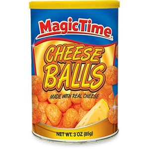 Magic Time Cheese Balls