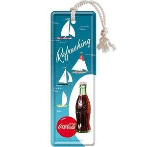 Nostalgic Art Boekenlegger Coca-Cola - Bottle Hero Poster - Sailing