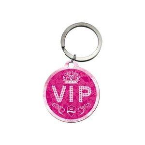 Nostalgic Art Sleutelhanger rond 4cm VIP Pink