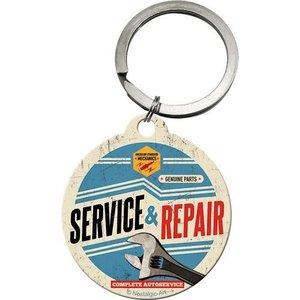 Nostalgic Art Sleutelhanger rond 4cm Service Repair