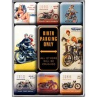 Nostalgic Art Magneetset Biker Parking Only (9x)
