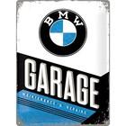 Nostalgic Art Tin Sign BMW Garage 30x40