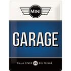 Nostalgic Art Tin Sign Mini Garage Blue 30x40