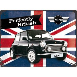Nostalgic Art Tin Sign 40x30 Mini Union Jack Perfectly British