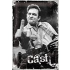 Nostalgic Art Tin Sign Johnny Cash - Finger 20x30