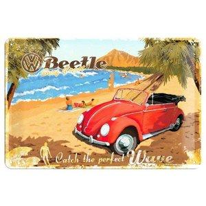 Nostalgic Art Tin Sign 30x20 VW Beetle