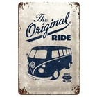 Nostalgic Art Tin Sign Volkswagen The Original Ride 20x30