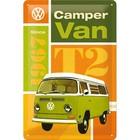 Nostalgic Art Tin Sign Volkswagen T2 Camper Van 20x30