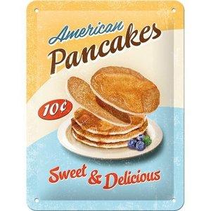 Nostalgic Art Tin Sign 15x20 American Pancakes