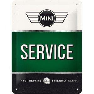 Nostalgic Art Tin Sign 15x20 Mini Service Green