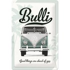 Nostalgic Art Tin Sign Volkswagen Bulli Good Things 20x30