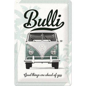 Nostalgic Art Tin Sign 20x30 Volkswagen Bulli Good Things