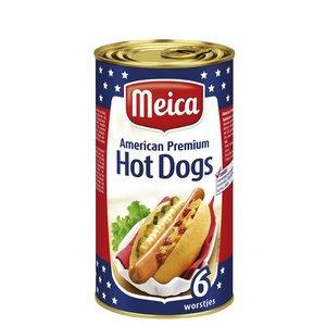 Meica American Premium Hot Dogs 6 stuks