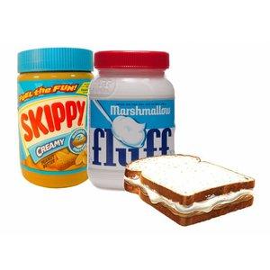Fluffernutter Pakket met Fluff en Skippy