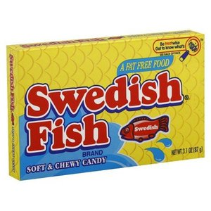 Swedish Fish Soft and Chewy Candy 88 gram