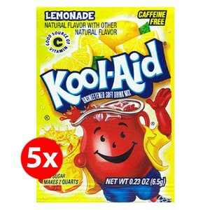 Kool-Aid Lemonade mix 1,9 liter - 5 zakjes