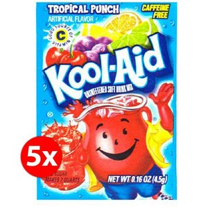 Kool-Aid Tropical Punch mix 1,9 liter - 5 zakjes