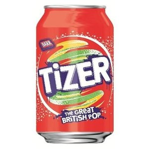 Barr Tizer Pop 330ml UK