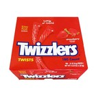 Twizzlers Twists Strawberry MEGA box (180 stuks) 1.62 kilo!