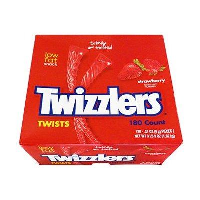 Twizzlers Twists Strawberry MEGA box (180 stuks) 1.62 kilo!