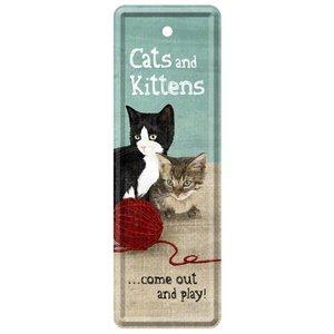 Nostalgic Art Boekenlegger Cats and Kittens
