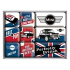 Nostalgic Art Magneetset Mini Union Jack (9x)
