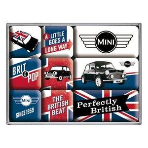 Nostalgic Art Magneetset Mini Union Jack (9x)