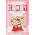 Nostalgic Art Tin Sign Candy Sweet Shop 20x30
