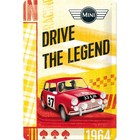 Nostalgic Art Tin Sign Mini Drive The Legend 20x30