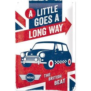 Nostalgic Art Tin Sign Mini British Beat 20x30